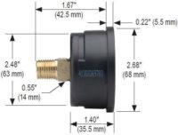 noshok-dial-pressure-gauge-25-110-series-dimensions