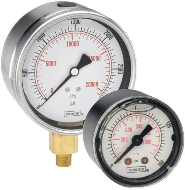 pressure-gauge-noshok-dial-indicating-900-series